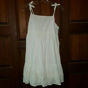 💖 White Chaps Girls size 16 Dress NWOT 💖